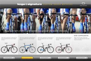 Commencez ici le configurateur Koga Signature® Course!
